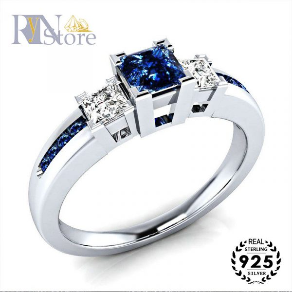 RyN store silver ring with e