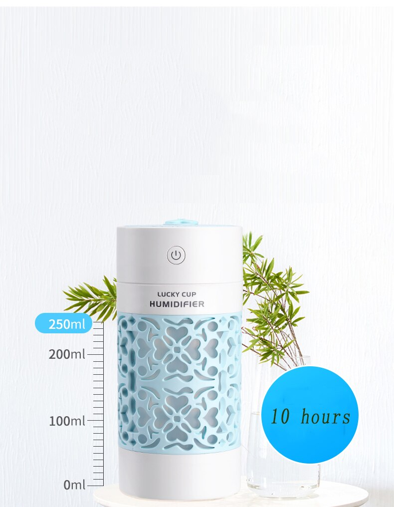 Air Humidifiers with LED Night Lamps