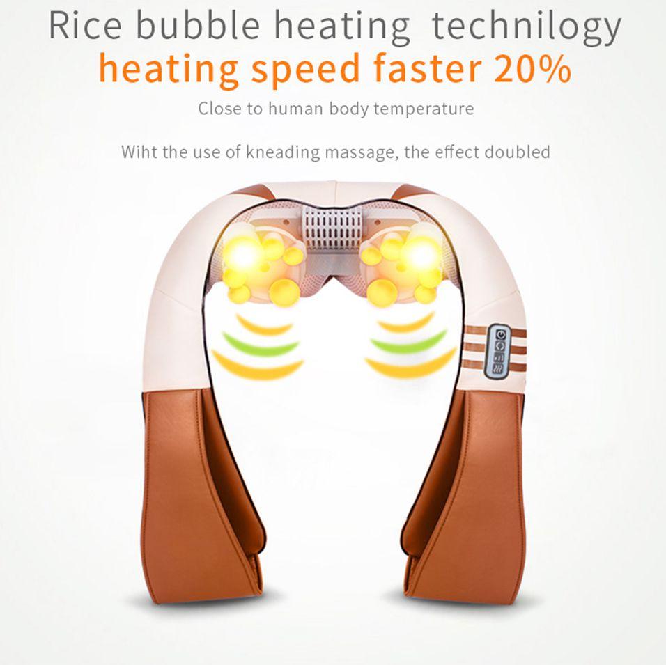 U Shape Electrical Heated Body Massager